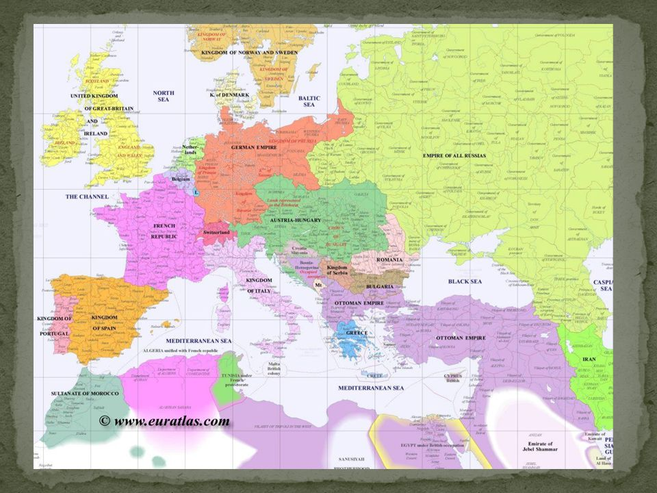 After 1871 Germany needed peace and stability in order to consolidate the gains of the Wars of Unification.