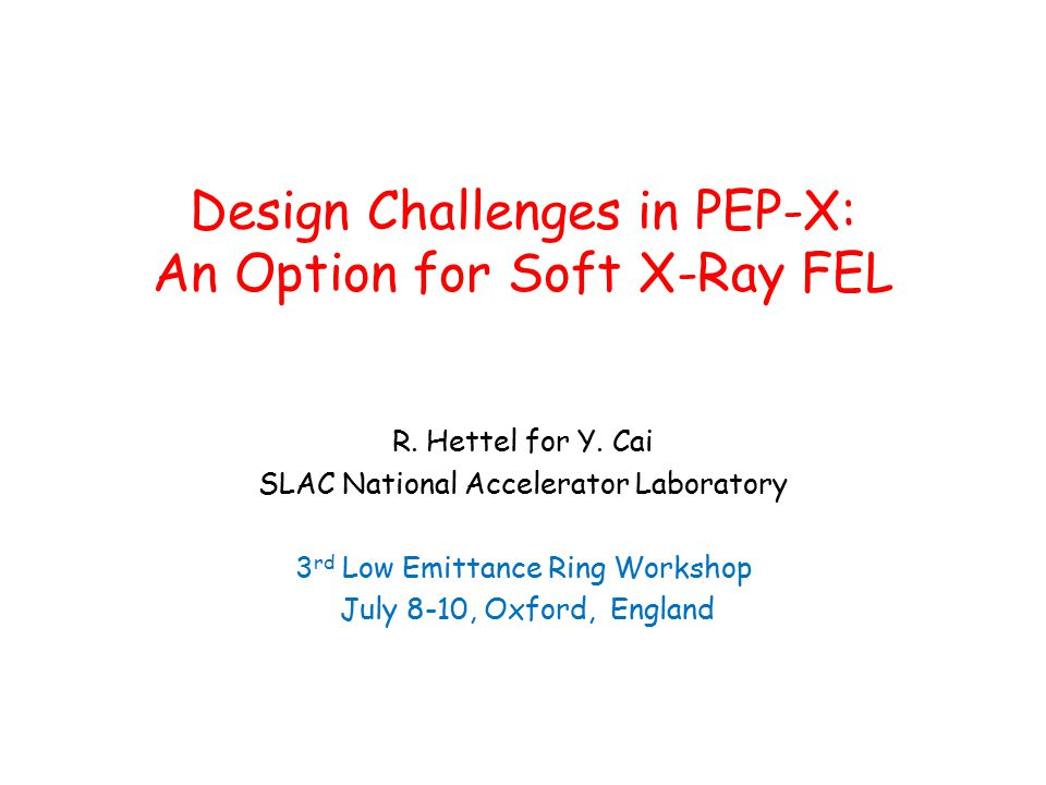 Design Challenges in PEP-X: An Option for Soft X-Ray FEL R.