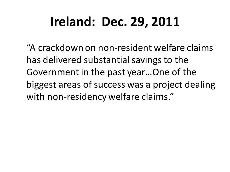 Ireland: Dec.