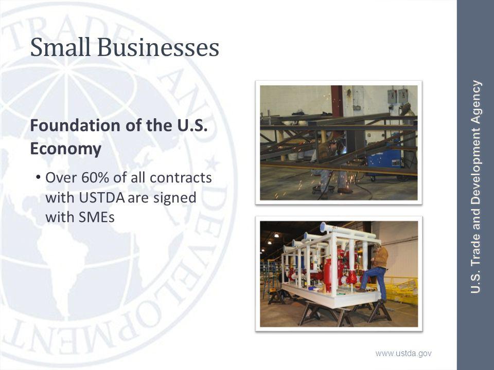 www.ustda.gov Small Businesses Foundation of the U.S.