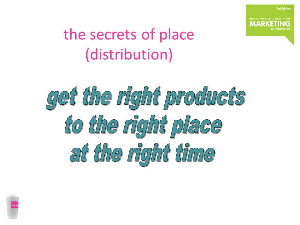 the secrets of place (distribution)