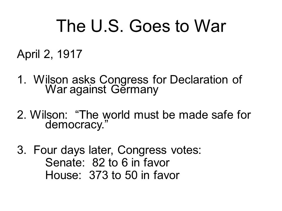 OGT Extended Response List and explain 4 reasons why the United States became involved in World War I.
