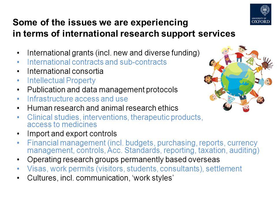 International grants (incl.