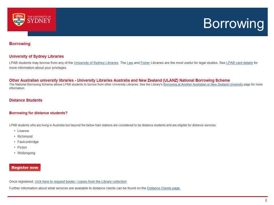 Borrowing 8