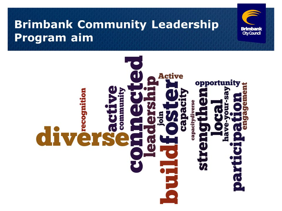 Brimbank Community Leadership Program aim 10