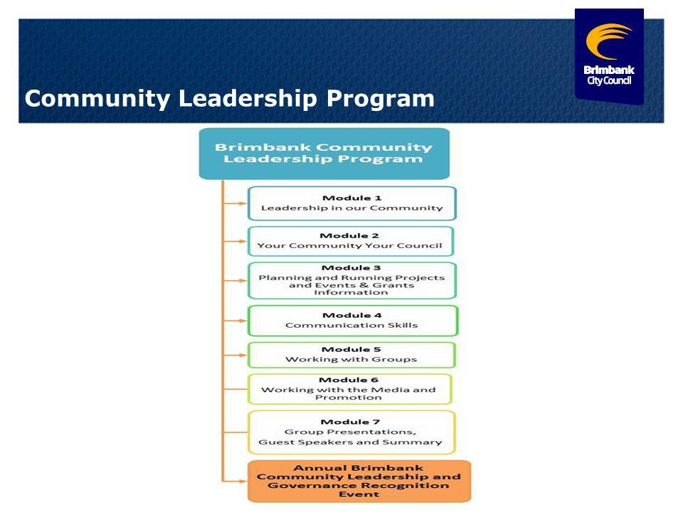 12 Community Leadership Program