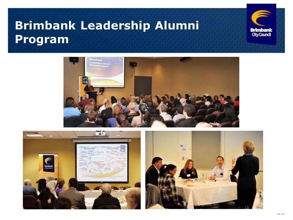 19 Brimbank Leadership Alumni Program
