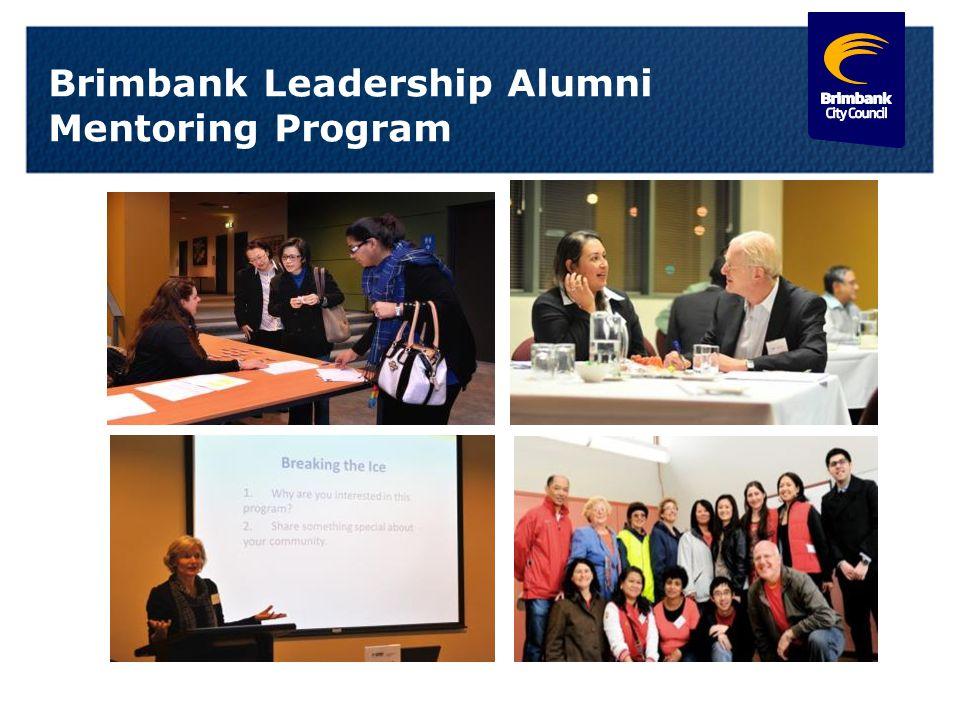 21 Brimbank Leadership Alumni Mentoring Program