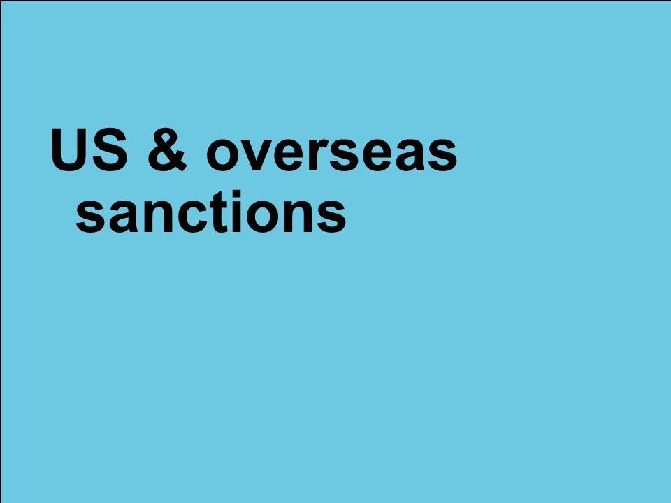 © Lloyd's US & overseas sanctions