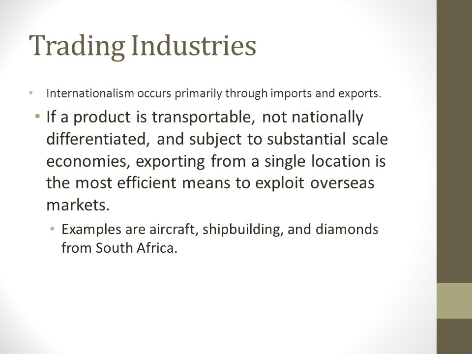 How should a firm enter foreign markets.