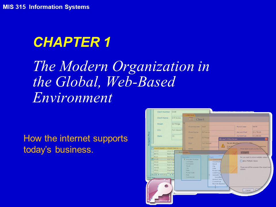 Information Systems – MIS 315 2 Learning Objectives Differentiate among data, information, and knowledge.