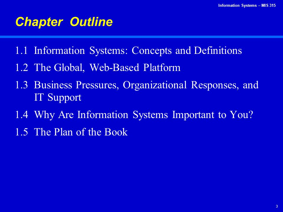 Information Systems – MIS 315 14 Globalization 1.0 1492 to 1800 World went from large to medium-size.