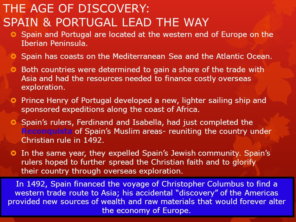 EUROPEAN EXPLORATION  Europeans established new trading-post empires in Africa, Asia, and the Americas.