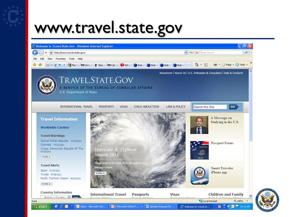 www.travel.state.gov Text