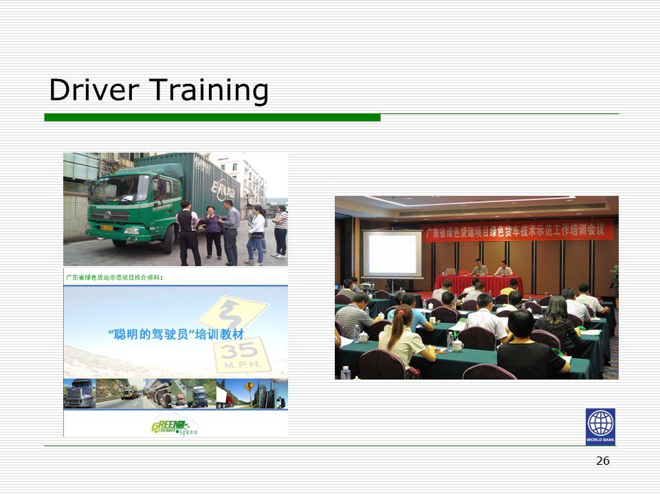 26 Driver Training