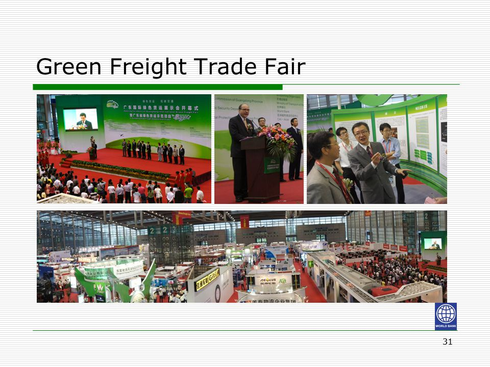 31 Green Freight Trade Fair