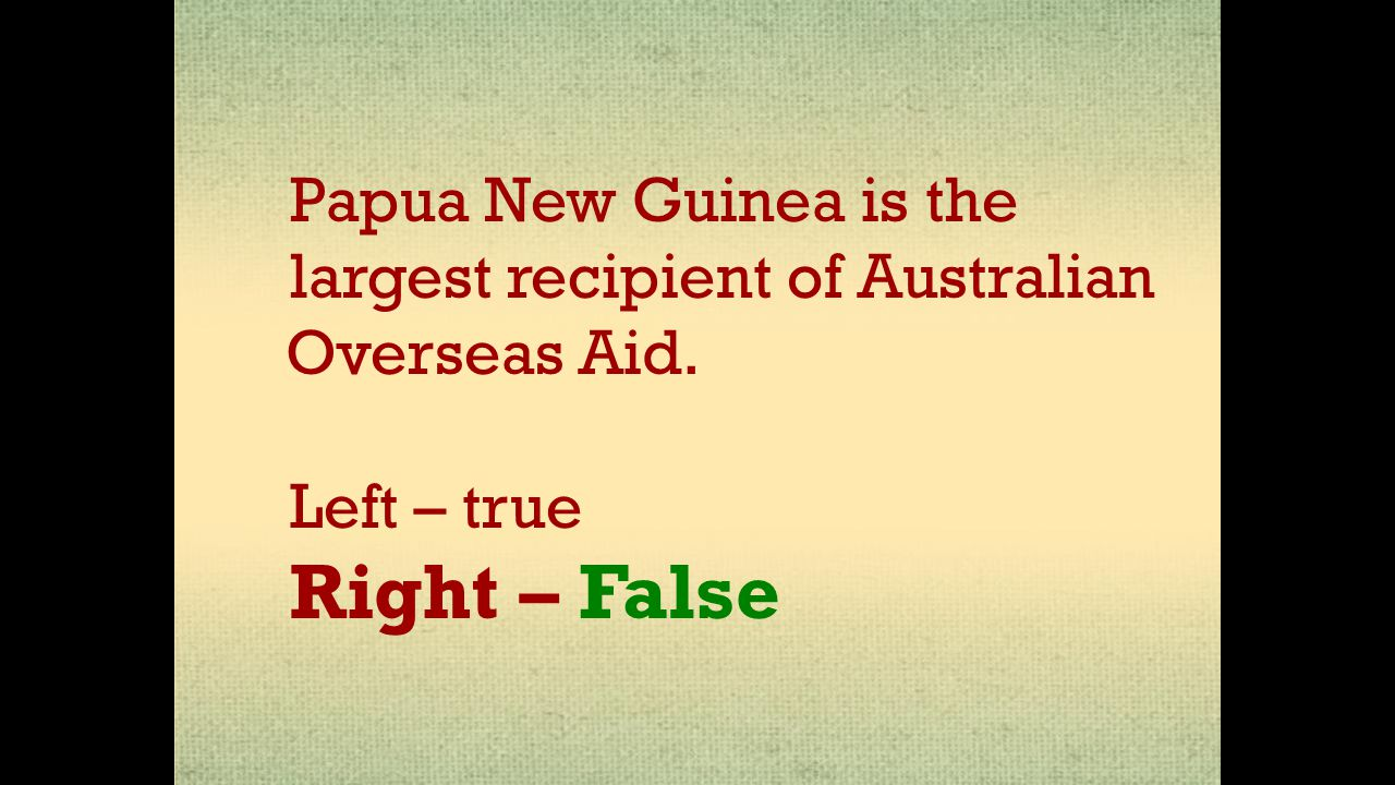 Which country is the largest recipient of Australian Overseas Aid?
