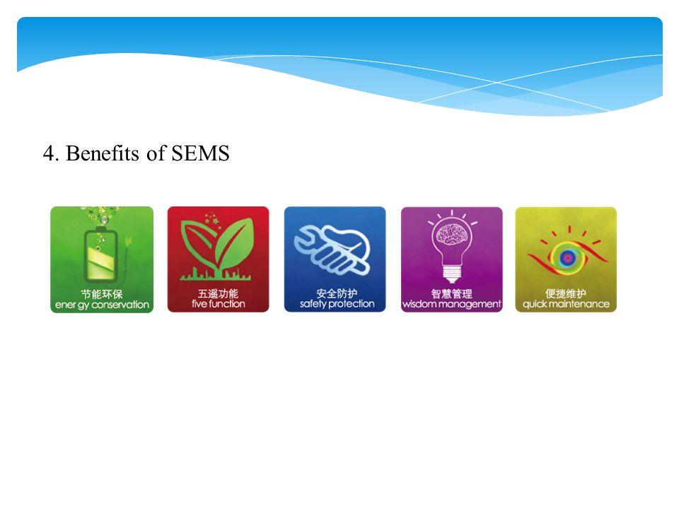 4. Benefits of SEMS