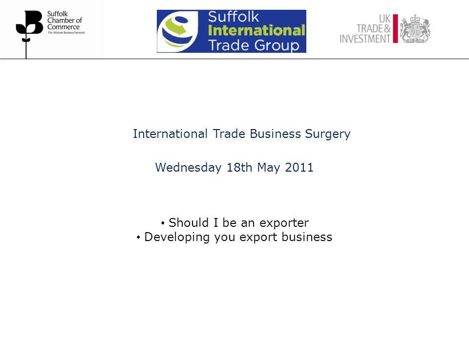 Exporters Enhanced innovation