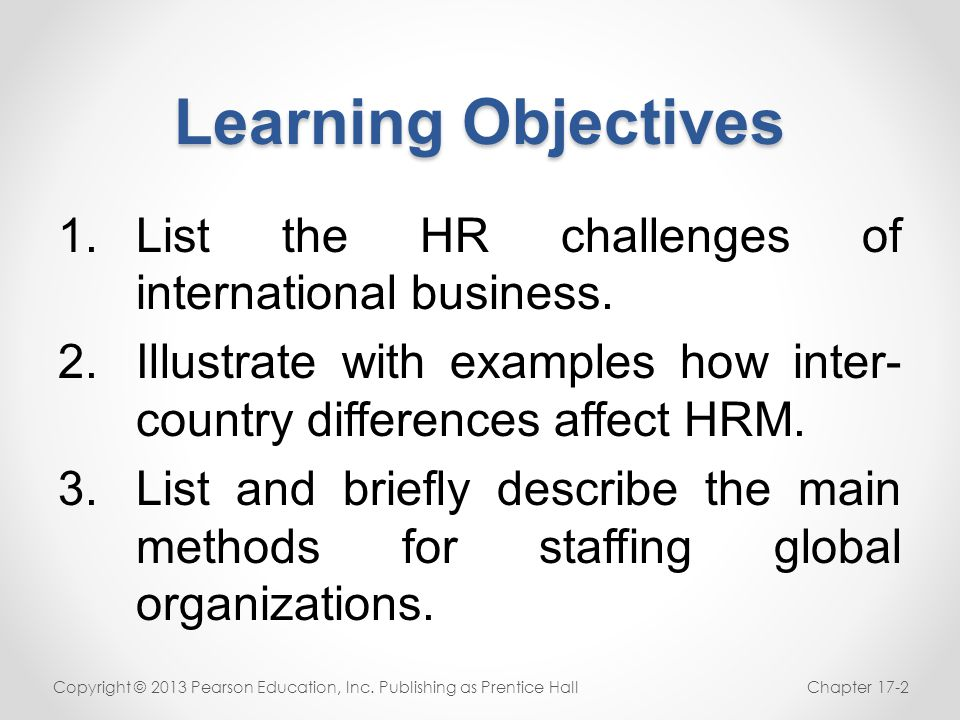 Staffing the Global Organization International staffing: Home or local.