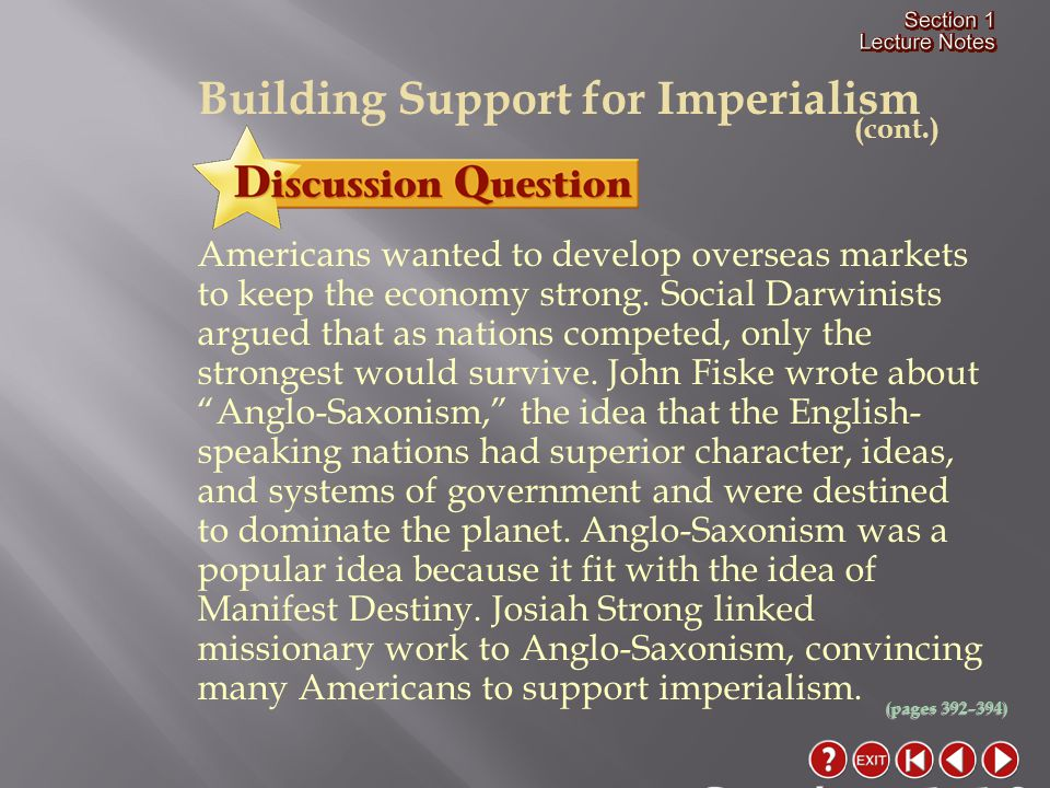 Close Cite the motivations for and the methods of American expansion in the Pacific.