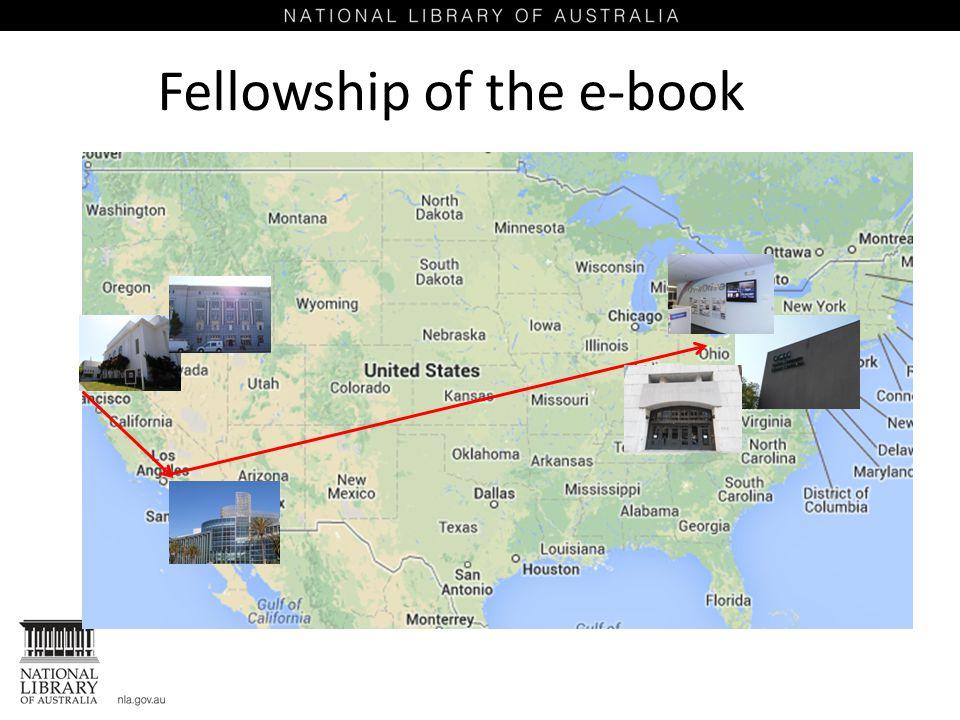 Fellowship of the e-book