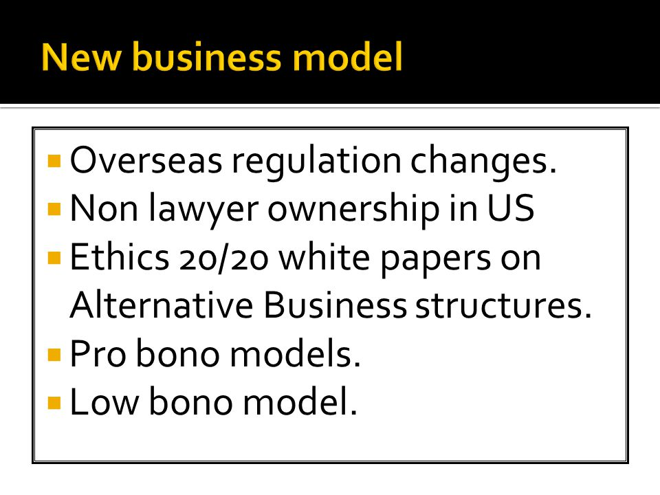  Overseas regulation changes.