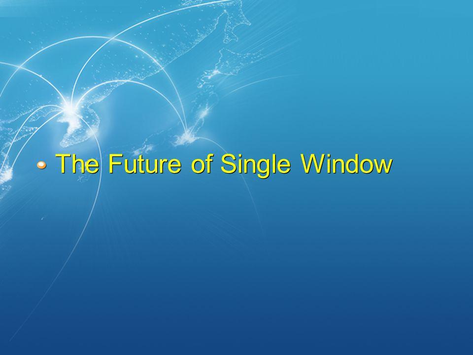 The Future of Single Window