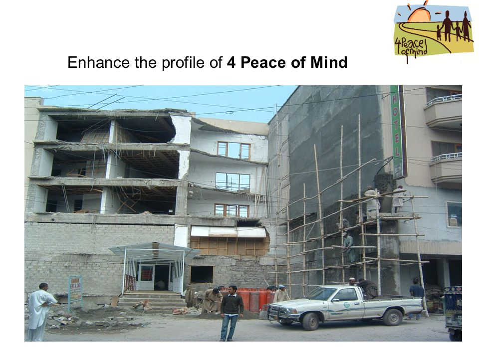 Enhance the profile of 4 Peace of Mind