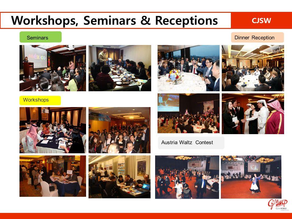 CJSW Workshops, Seminars & Receptions Seminars Workshops Dinner Reception Austria Waltz Contest