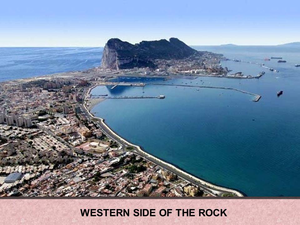 WESTERN SIDE OF THE ROCK