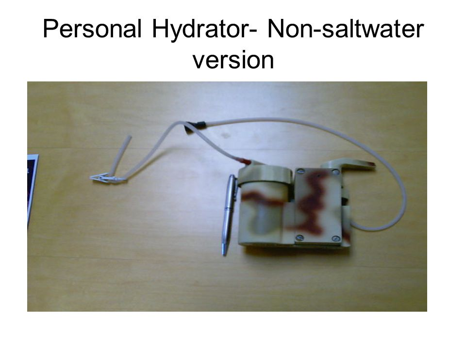 Personal Hydrator- Non-saltwater version