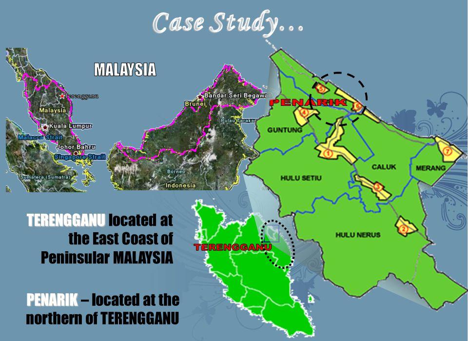 TERENGGANU TERENGGANU located at the East Coast of Peninsular MALAYSIA PENARIK PENARIK – located at the northern of TERENGGANU