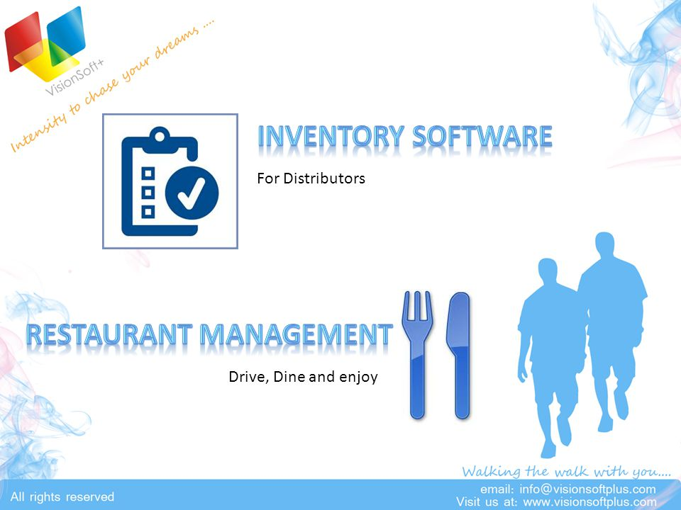 Drive, Dine and enjoy For Distributors