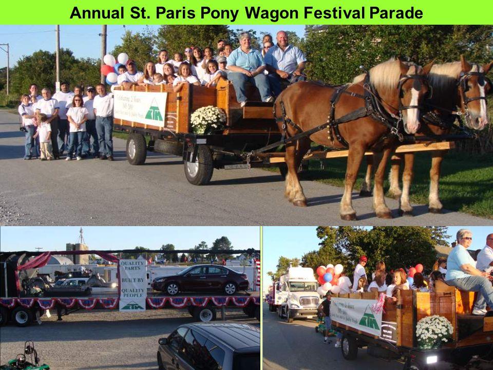 Annual St. Paris Pony Wagon Festival Parade