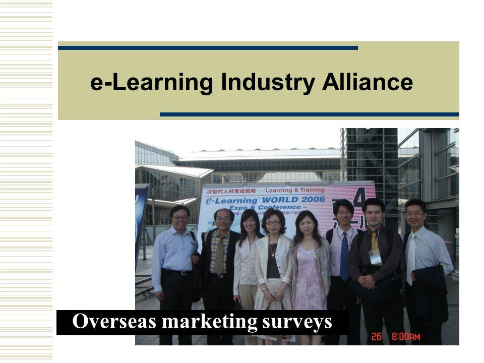 e-Learning Industry Alliance Overseas marketing surveys