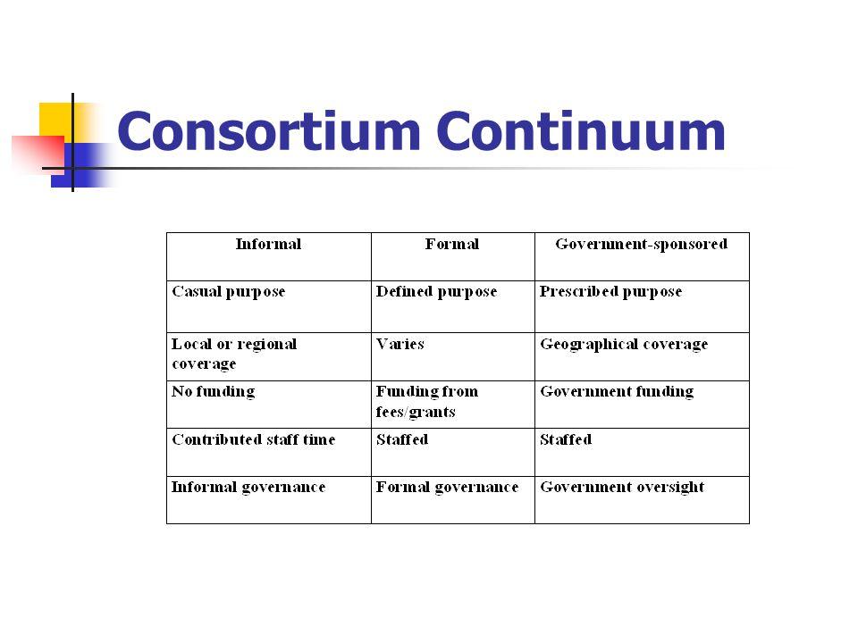 Consortium Continuum