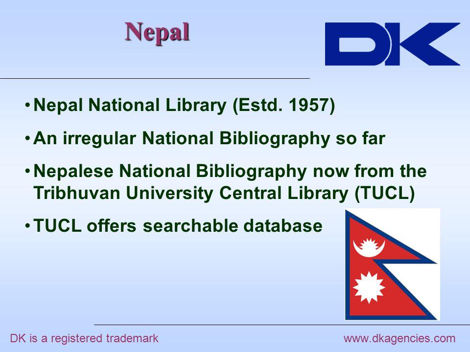 Nepal www.dkagencies.com Nepal National Library (Estd.