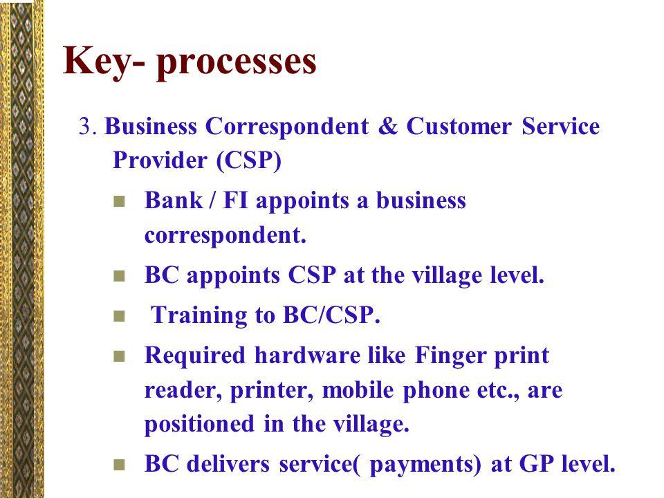 Key- processes 3.