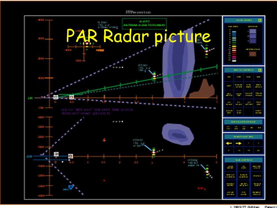 PAR Radar picture