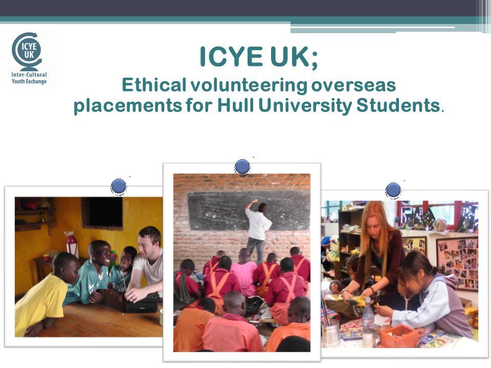 What is ICYE UK.