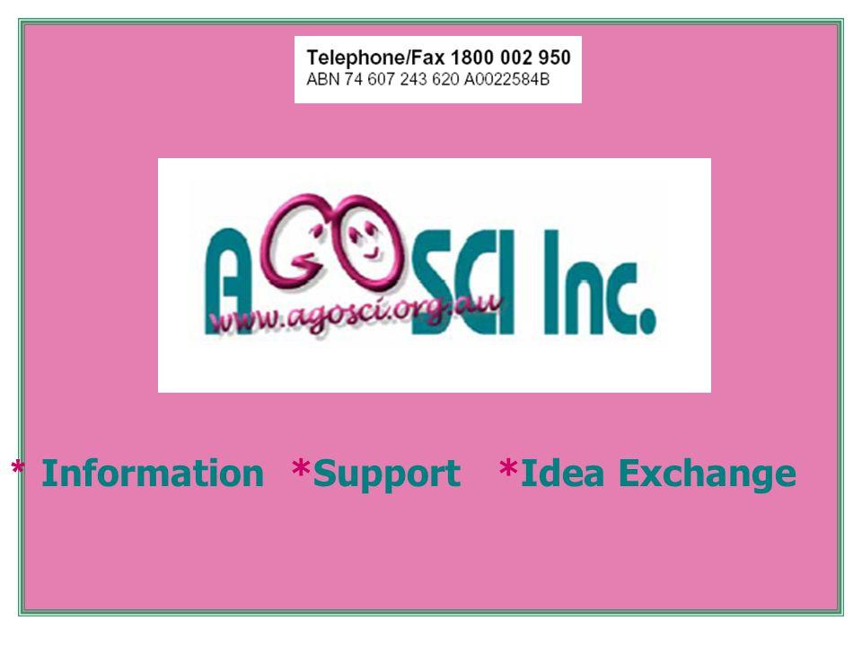 * Information *Support *Idea Exchange