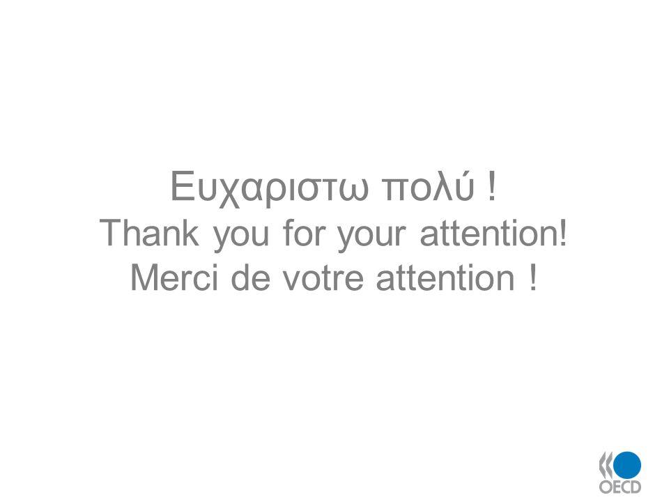 Ευχαριστω πολύ ! Thank you for your attention! Merci de votre attention !