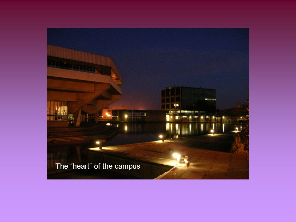 The heart of the campus