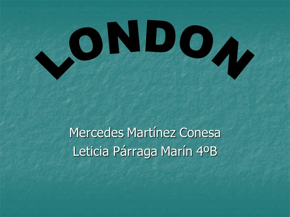 Mercedes Martínez Conesa Leticia Párraga Marín 4ºB