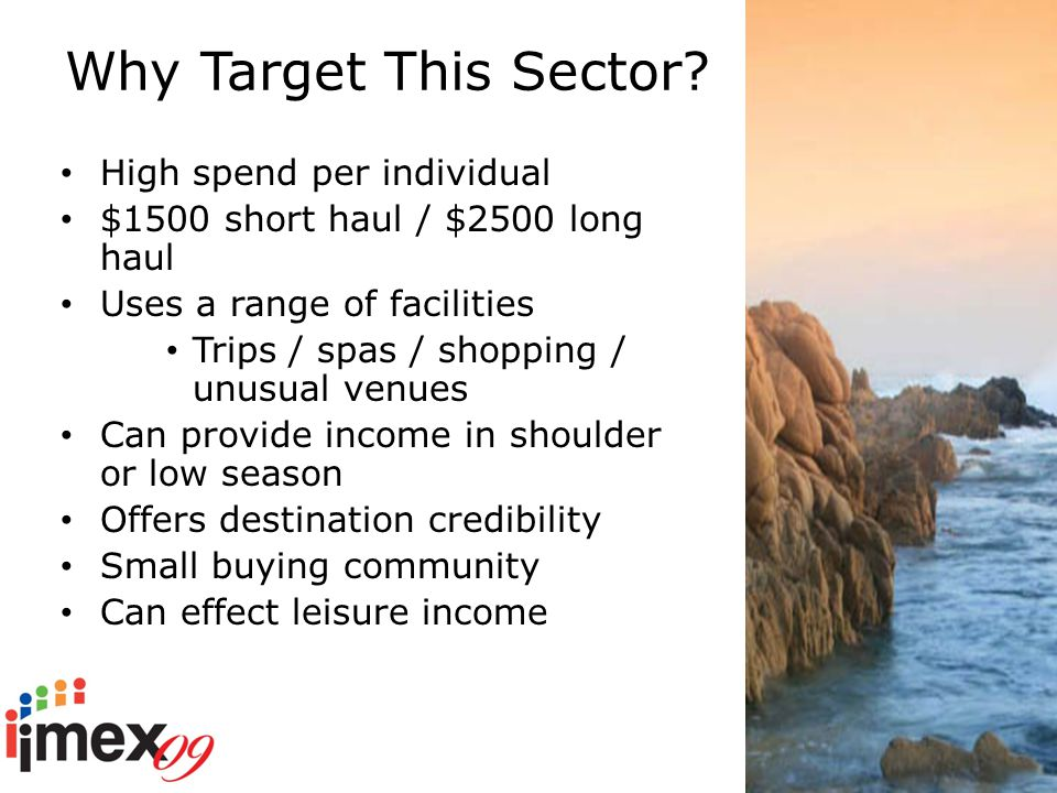 Why Target This Sector.