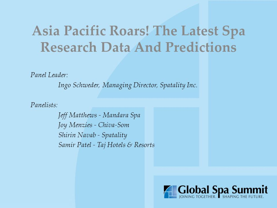 Asia Pacific Roars.
