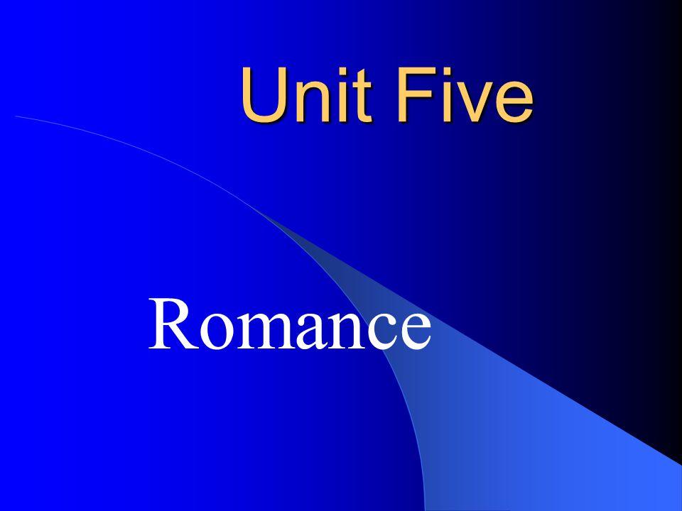 Unit Five Romance