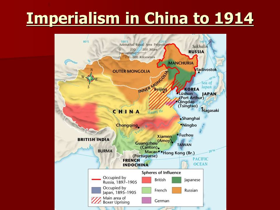 Imperialism in China to 1914 5