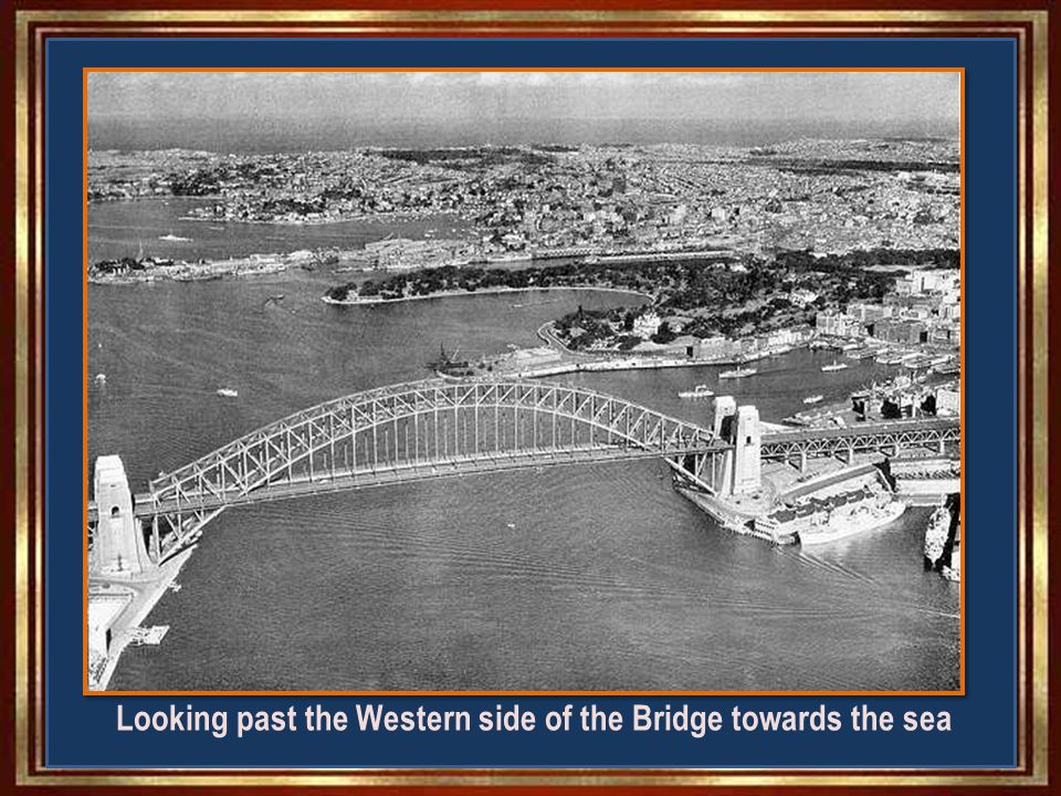 First cars and trains across Sydney Harbour Bridge March 1932